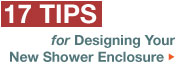 17 Tips for designing your new shower door