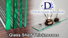 Glass Shelf Thickness