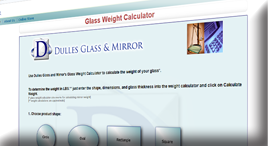 Glass Weight Calculator