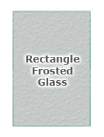 Rectangle Frosted Glass