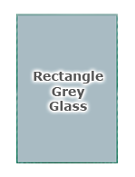 Rectangle Grey Glass