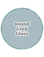 Round Grey Glass