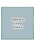 Square Grey Glass