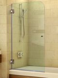 Frameless Bathtub Screen