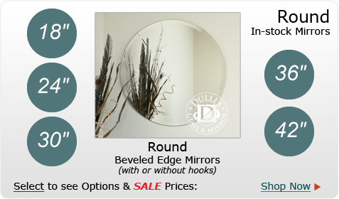 Round in-stock Mirror