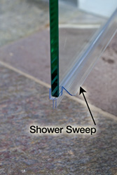 When To Use A Shower Sweep