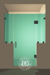 Frameless Shower Door Inline Shower Door