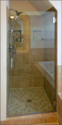 Single Shower Door #1