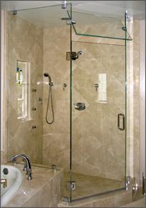 Frameless Shower Door Neo Angle Shower Door