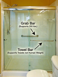 Towel Grab Bar