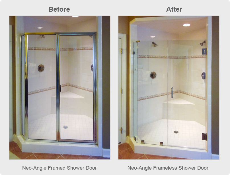 frameless shower doors frameless glass enclosures shower doo