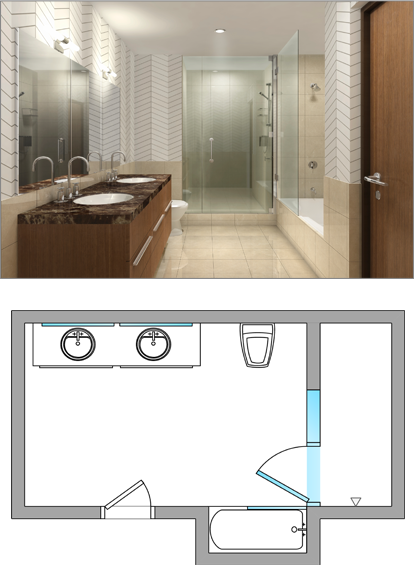 Frameless Inline Gl Shower Door
