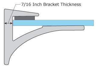 Bracket Thickness