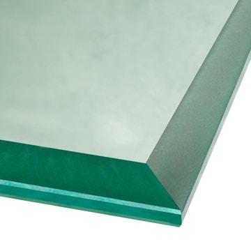 beveled glass edge