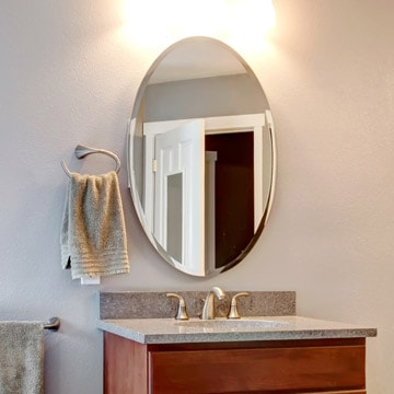 beveled bathroom mirrors beveled mirror customize it and buy dulles glass 12071 | beveled mirror 082417 01