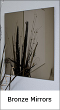 Custom bronze mirror