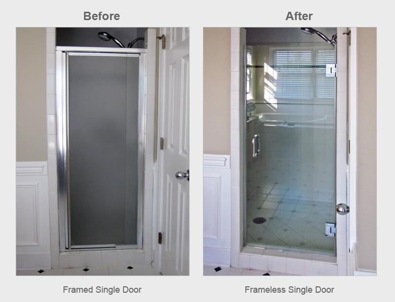 Single Shower Door