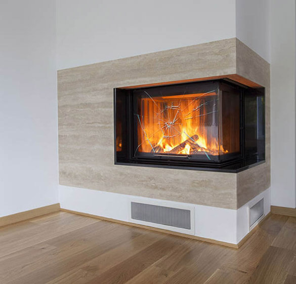 Fireplace Glass Cut To Your Specifications Order Online Dulles Glass And Mirror