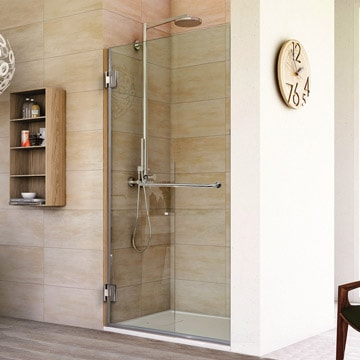 Frameless Shower Doors | Custom Glass Enclosures and Shower Doors ...