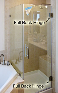 Pivot Shower Door Cost Comparison Dulles Glass And Mirror