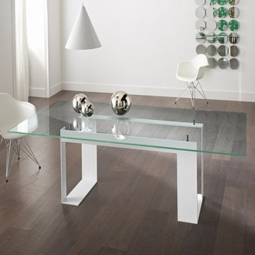 laminated glass table top