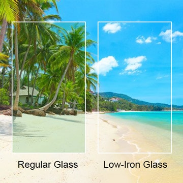 Low Iron Glass Custom Cut Low Iron Glass Dulles Glass