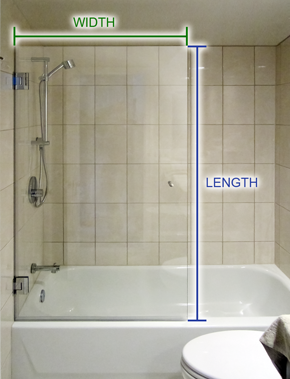 Delightful How To Measure Bathtub Screen