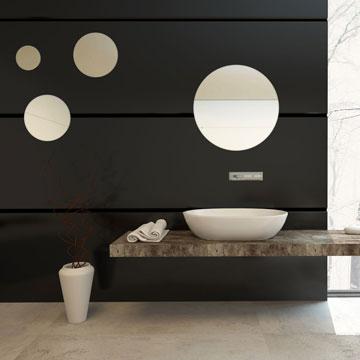 round mirror wall art