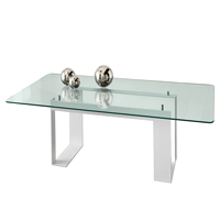 Rectangle Glass Table Tops