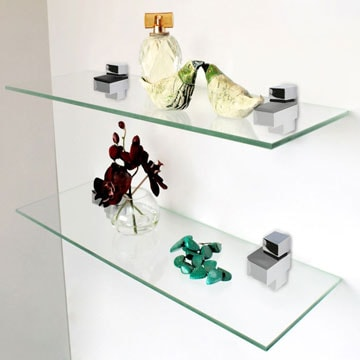 About Our Glass Shelves