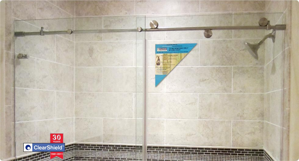 Shower Enclosure with ClearShield