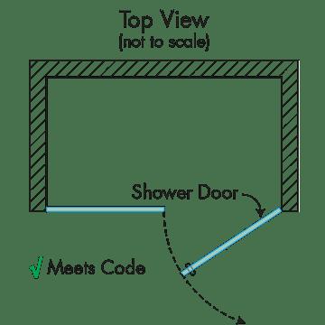Prima Door Panel Shower Doors Dulles Gl And Mirror