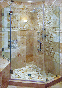 Neo-Angle Shower Door #57