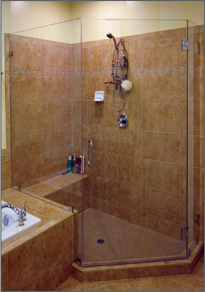 Neo-Angle Shower Door #58
