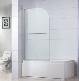 enclosures with bathroom frameless tubs a folding tub glass and bathtub doors shower pin view