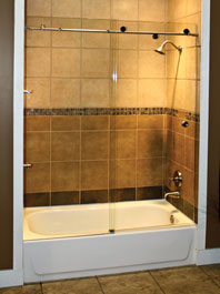 Bathtub Sliding Glass Doors