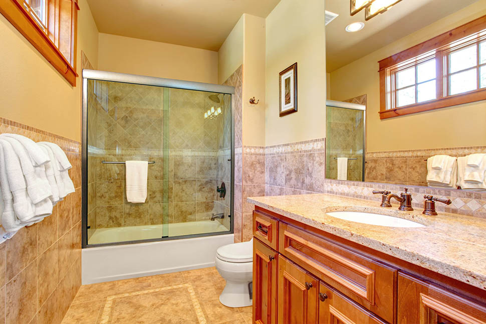 Linear Sliding Shower And Tub Doors Dulles Glass And Mirror