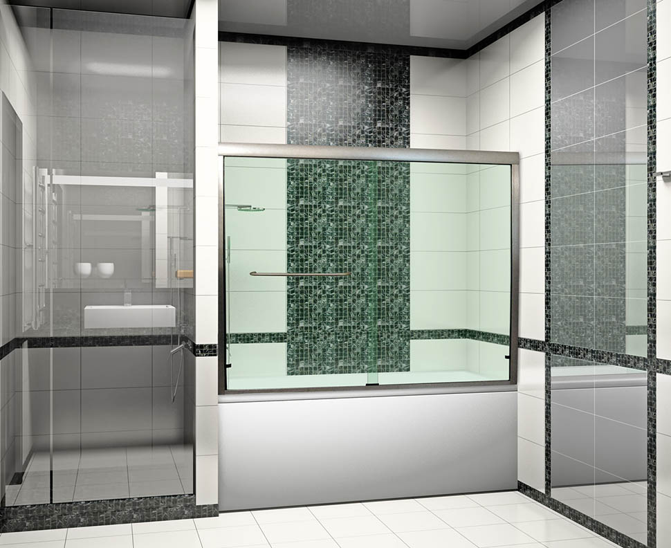 Linear Sliding Doors are Durable & Linear Sliding Shower and Tub Doors | Dulles Glass and Mirror