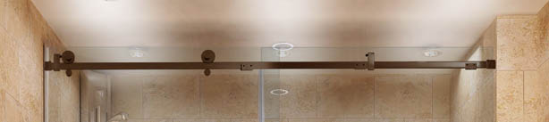 Quadro Shower Door Construction