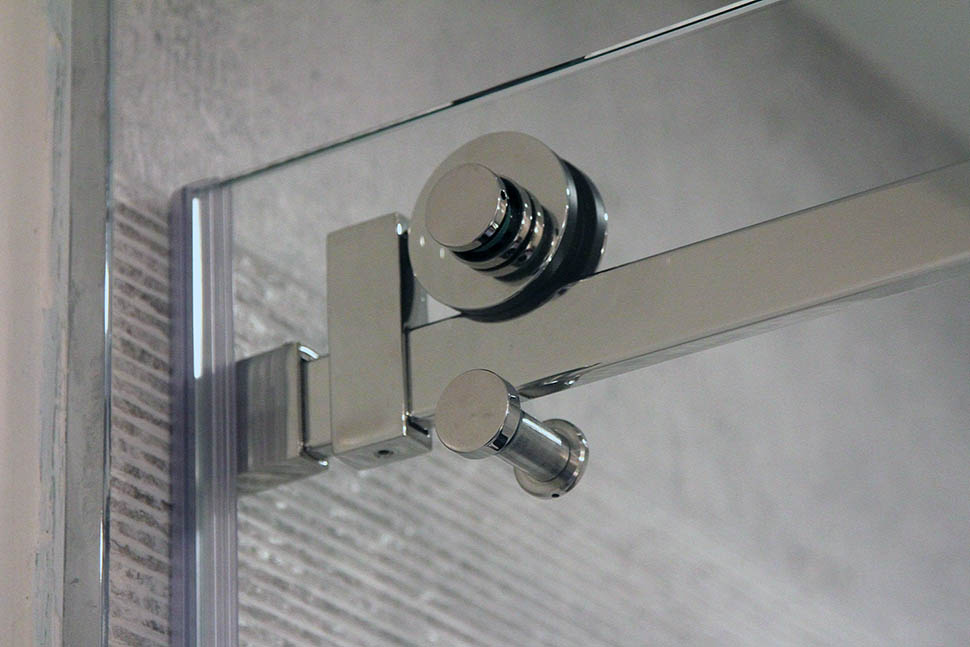 Quadro Sliding Shower Door Hardware