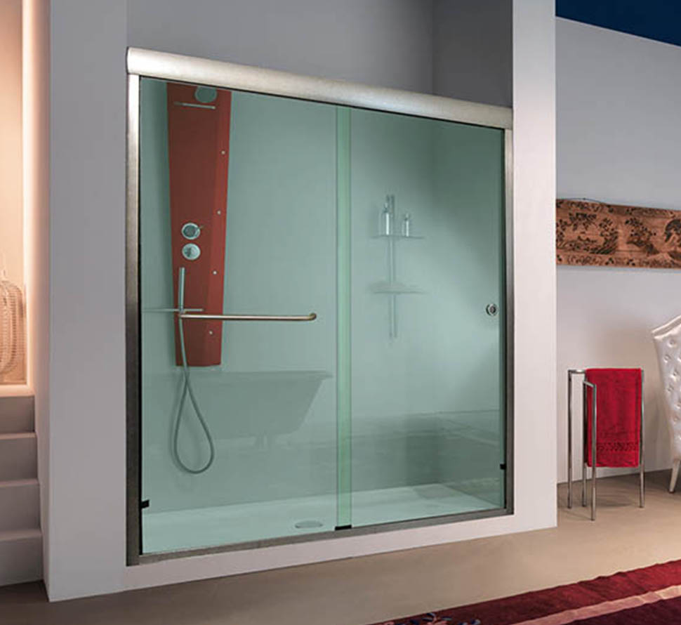 Sleek and Modern Design in Sliding Shower Doors & Sliding Shower Doors | Custom Sliding Doors for Showers and Bathtubs ...