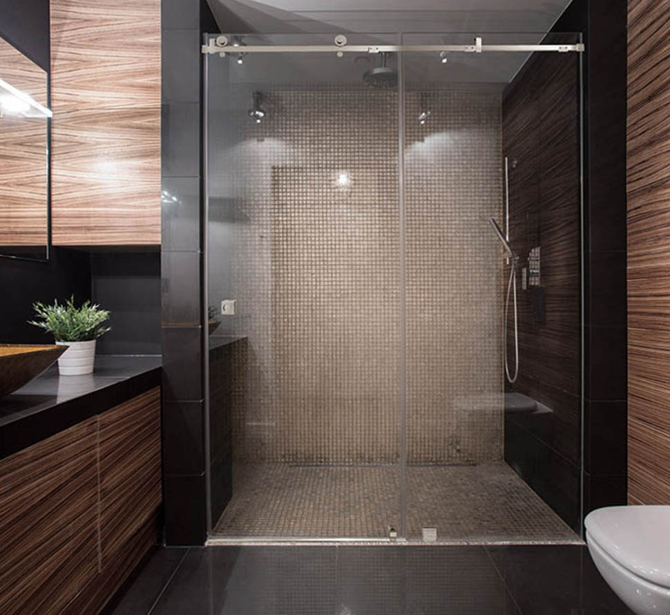 sliding shower doors custom sliding doors for showers