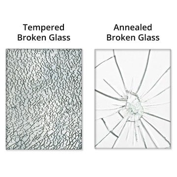 Tempered Glass vs. Annealed Glass
