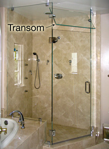 Glass Transom