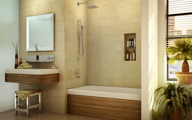 Custom Bathtub Screen