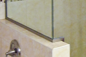 U Channel For Your Shower Doors Dulles Glass And Mirror