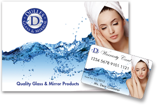 Dulles Glass and Mirror warranty
